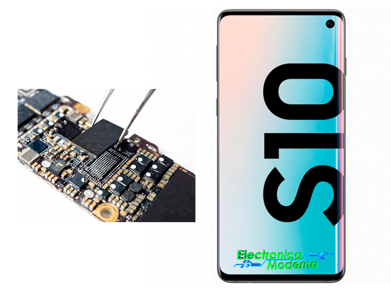 Reparar placa base samsung electronica moderna coslada