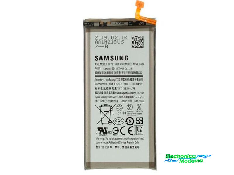 bateria samsung S10 electronica moderna coslada